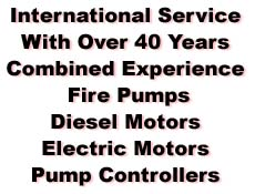 pump, contoller, diesel, electric motor experience